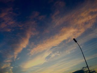 sky sunset freetoedit iphonephotography