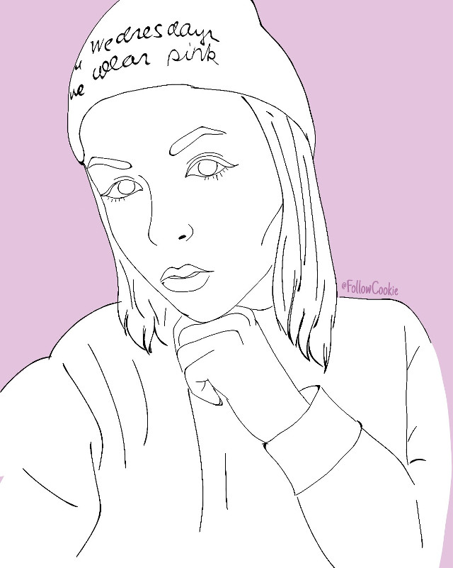 #FollowCookie #draw #selfie #girl  #people #love