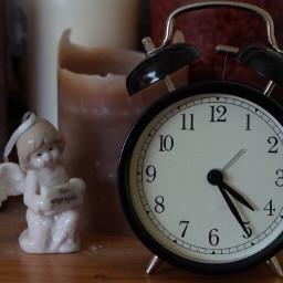 time clock alarmclock angel saturday