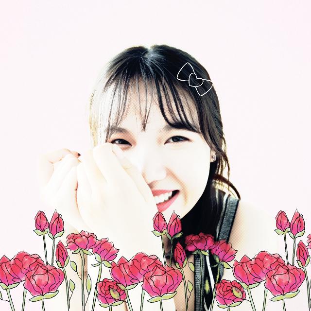 #FreeToEdit  #cute  #flower  #people  #summer  #colorful