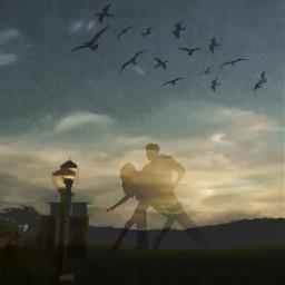 landscape cloudsandsky cloudsporn manandwoman birdsinflight