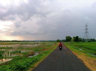 rain roads rides travel bike