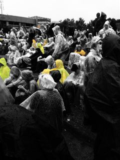 pinkpop festival blackandwhite