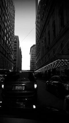 chicago blackandwhite traffic urban