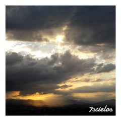 sky photo clouds sun shine