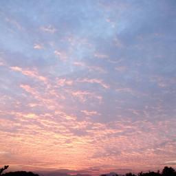 sky colorful sunset freetoedit