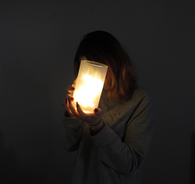 #light #freetoedit #unedited #gold #dark #girl #magical #fall