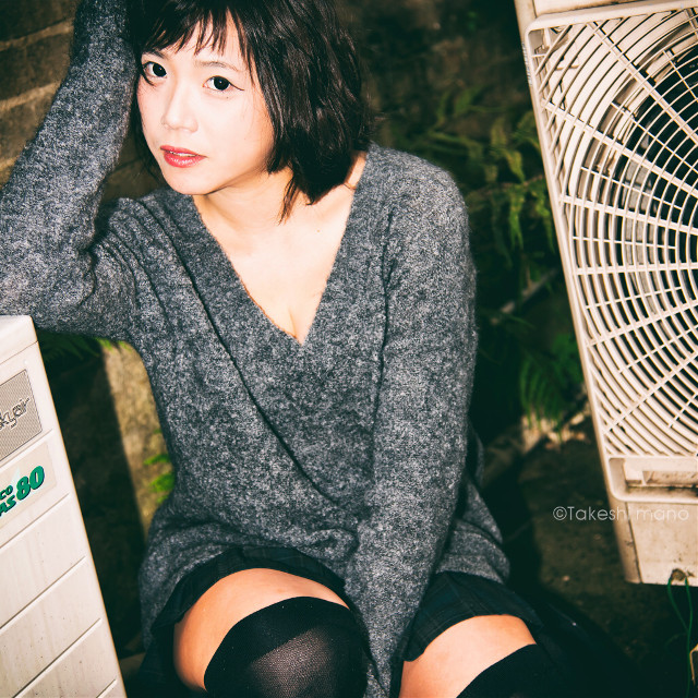 #portrait #portraits #portraitphotography #woman #womanportrait #japan #lights #girl