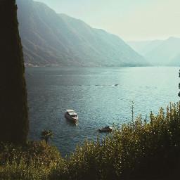 mobilephotography photography lake comolake italy boat landscape gegaspar