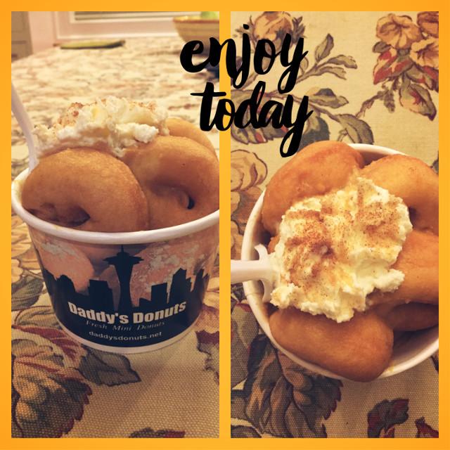 #yum #donutnight #movienight #pumpkincheesecake