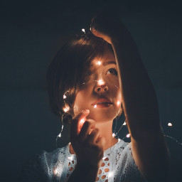 freetoedit human girl light portrait