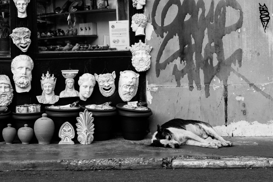 #streetphotography #blackandwhite #street #athens