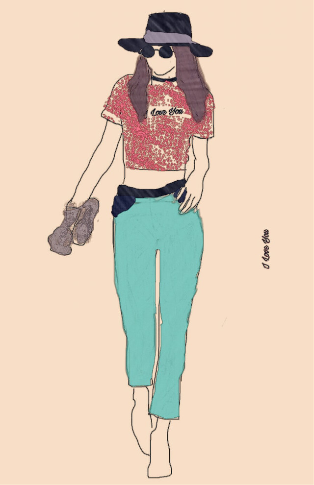 Az én egyedüli ruhatervezésem   a sok közül. :)