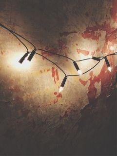 dpcwalls lights oldwall halloweenfeeling
