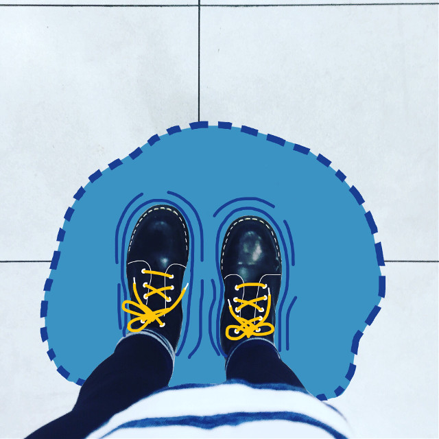 #FreeToEdit #boots #puddle #painting #inspiration #yellow #remix